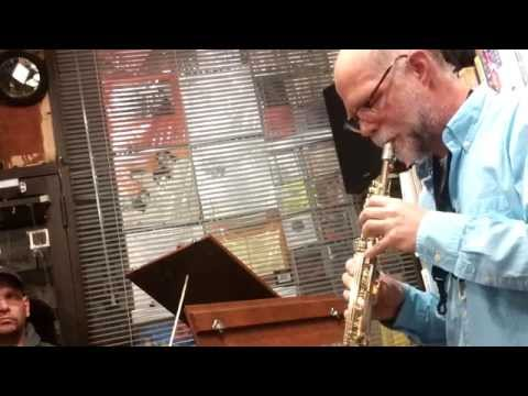 Steve Norton plays 'Solo' by Roscoe Mitchell @ Weirdo Records
