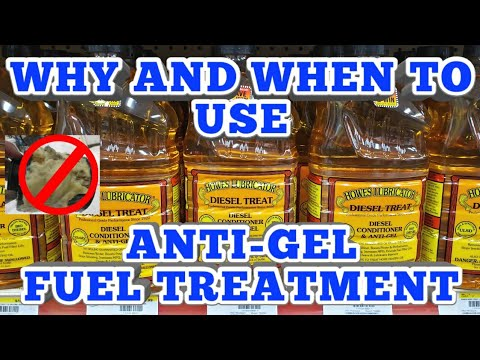 ANTI-GEL FUEL TREATMENT | WHEN TO USE IT AND WHY?