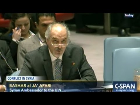 "At U.N. Security Council Meeting U.S. Tells Russia ""Stop Covering For Assad!"""