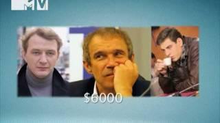 NewsБлок MTV: Кто самый дорогой актер России