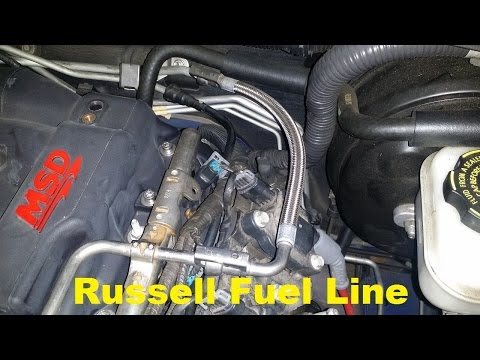 GTO Russell Fuel Line