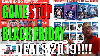 Gamestop Black Friday Deals!!!! 2019