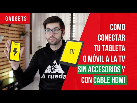 📡 Conecta Tu MÓVIL O TABLETA ✅ A Tu TV Por WIFI O Con CABLE HDMI Miracast Castto EZCast Smart View