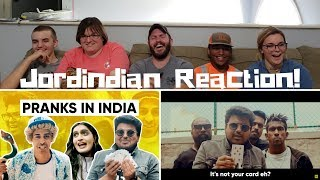 Pranks In India | Why Pranks Don't Work In India | Jordindian Reaction!