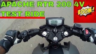 TVS Apache RTR 200 4V : Test Ride : Best Bikes under 1 Lakh