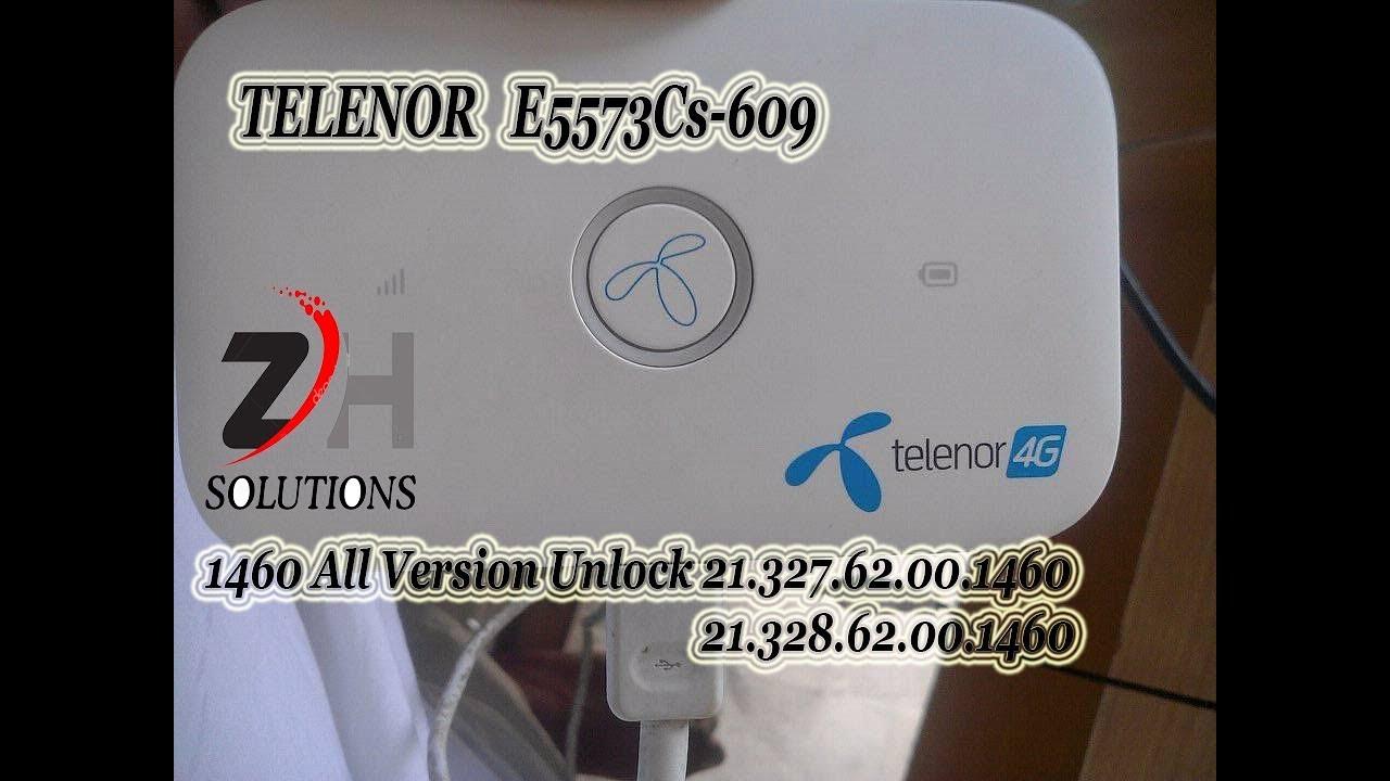 Telenor E5573cs 609 Unlock