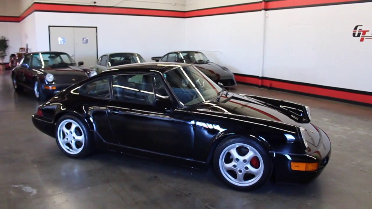 1991 Porsche 911 Carrera 2 For Sale at GT Auto Lounge - YouTube