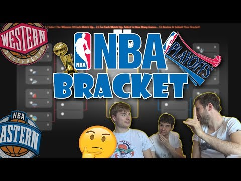 FINALMENTE IL NOSTRO BRACKET DEI PLAYOFFS NBA 2018! (in ritardo)