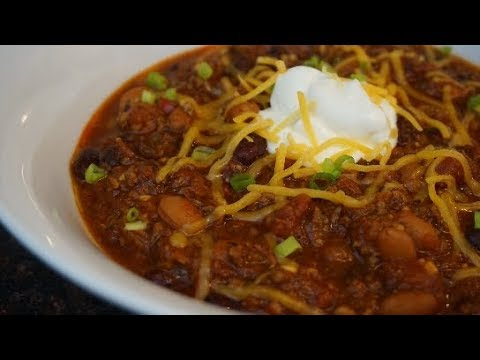 The Best Easy Chili Beans