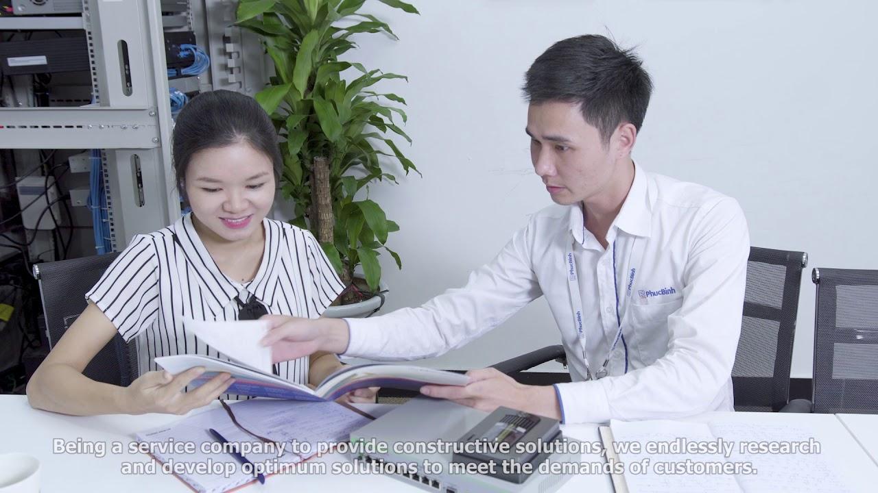 PHÚC BÌNH INTRODUCE – Giới thiệu công ty cổ phần công nghệ Phúc Bình 2018