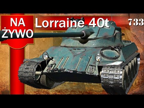 Lorraine 40t - średni magazynek premium - World of Tanks