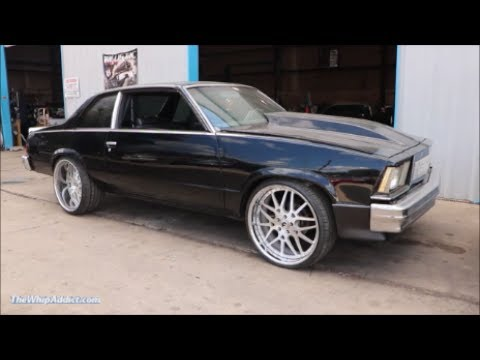 WhipAddict Todds 79 Chevrolet Malibu On Forgiato Maglias LS3 Motor Track Pass Part 1