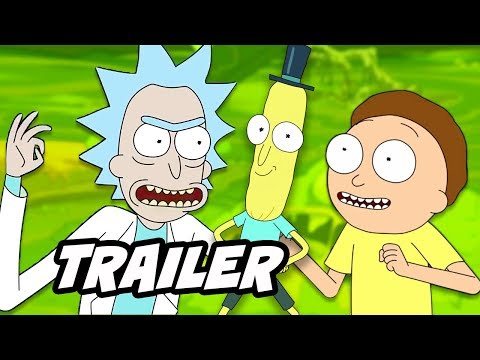 Download Youtube: Rick and Morty Season 4 Thanksgiving Teaser Easter Eggs and References