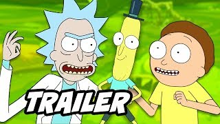 Video Rick and Morty Season 4 Thanksgiving Teaser Easter Eggs and References download MP3, 3GP, MP4, WEBM, AVI, FLV November 2017