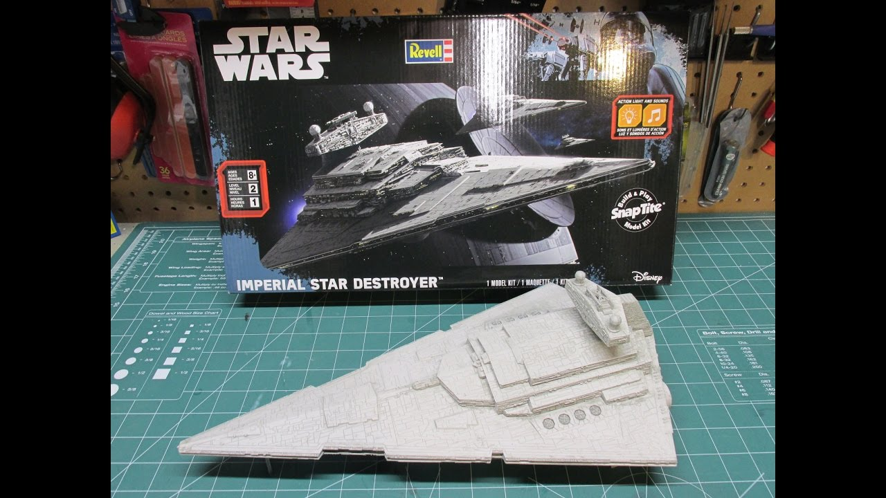 Revell Imperial Star Destroyer Star Wars Rogue One Review Build 85-1638