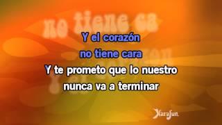Karaoke Corazón sin cara - Prince Royce *