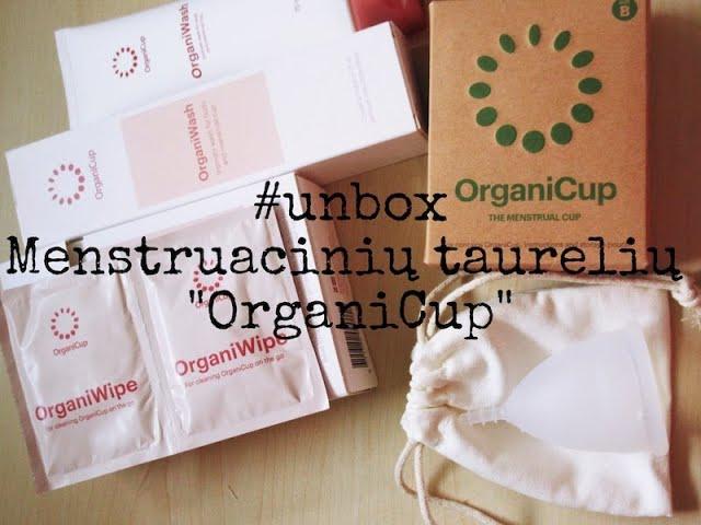 #unbox - Menstruacinės taurelės / #zerowaste / #OrganiCup / Vegan Pipiras