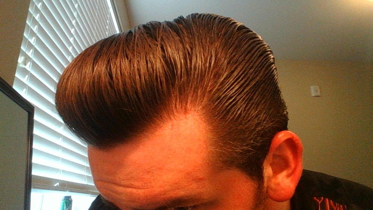how to style your hair with pomade how to style a pompadour with thick wavy hair murray 7434