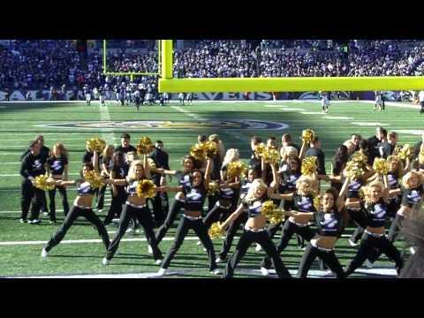 Baltimore Ravens's cheerleaders.