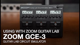 Zoom GCE-3: Connecting With Zoom Guitar Lab