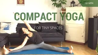 Compact Yoga Flow for Small Spaces - 18 minutes