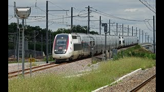 Rail Live. LGV Oceane first day, first TGV at speed !