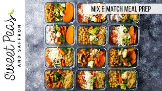 FORMULA: 12 Different Meal Prep Bowls in 1 Hour 🤯