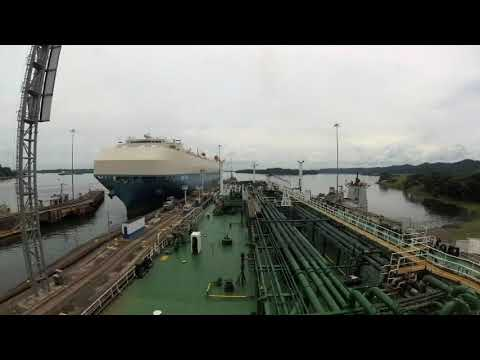 Panama Canal Transit (Westbound)