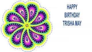 TrishaMay   Indian Designs - Happy Birthday