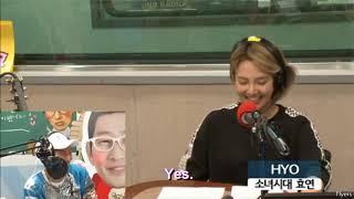 [ENG] Hyoyeon Love FM Cut 25042018 - She said she wants to collaborate w/ Taeyeon again! - Stafaband
