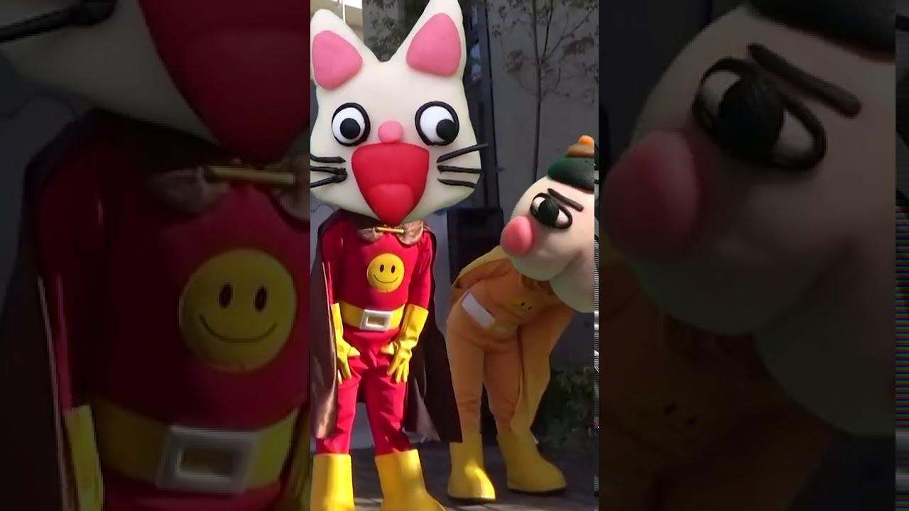36【アンパンマンショー】変な顔アンパンマン