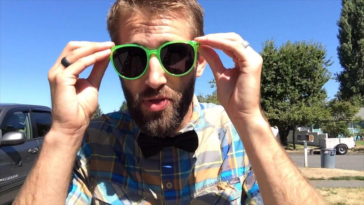 Zbeibei Vintage Colored Frame Wayfarer Sunglasses Multicolor Lens ...