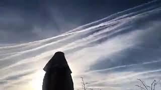 Los cielos de Barcelona esta mañana
