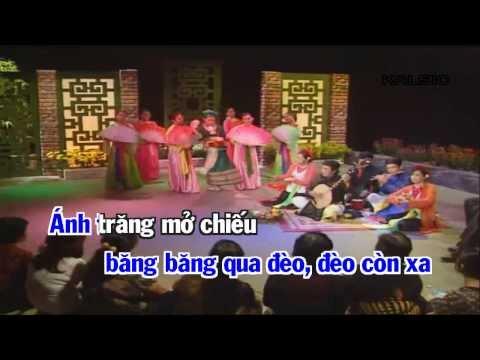 [Karaoke HD] CÔ ĐÔI THƯỢNG NGÀN - Hát Văn