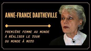 1 ère FEMME AU MONDE A RÉALISER LE TOUR DU MONDE EN MOTO! (Anne-France Dautheville)
