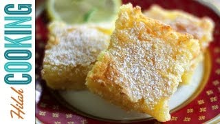 Lemon Bars! How To Make Homemade Lemon Bars