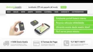 Localizador GPS más pequeño del mundo portátil sin instalación