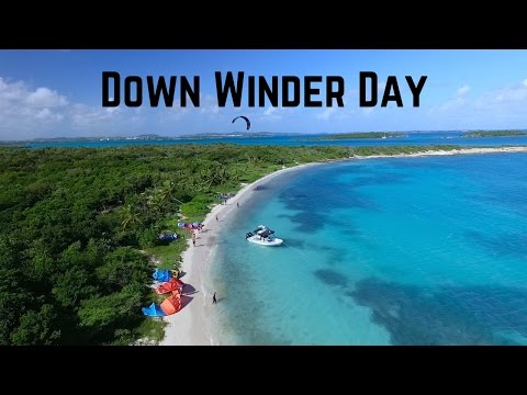 Kiteboarding: The Best Down Winder In Antigua? #VlogLife 8