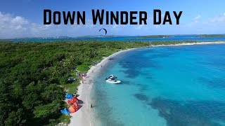 Kiteboarding: The Best Down Winder In Antigua? #VlogLife 8