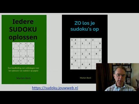 Hoe los je een moeilijke sudoku op? Aanvulling 1.