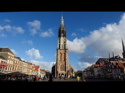 The Netherlands : The New Church (De Nieuwe Kerk) in Delft city