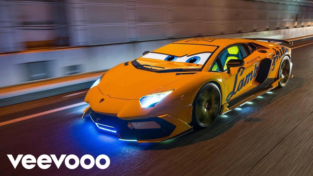 Pixarized Cars  U2301 Lamborghini Dreamer