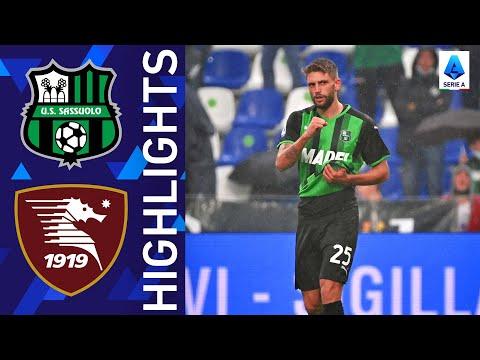 Sassuolo Salernitana Goals And Highlights