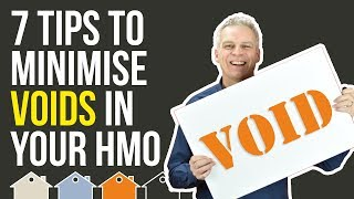 How to Minimise Rental Voids on HMO's & Investment Property | Tony Law Property Investing