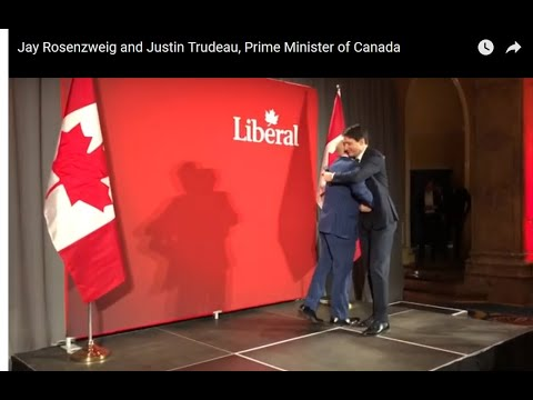 YouTube - Jay Rosenzweig and Justin Trudeau, Prime Minister of Canada