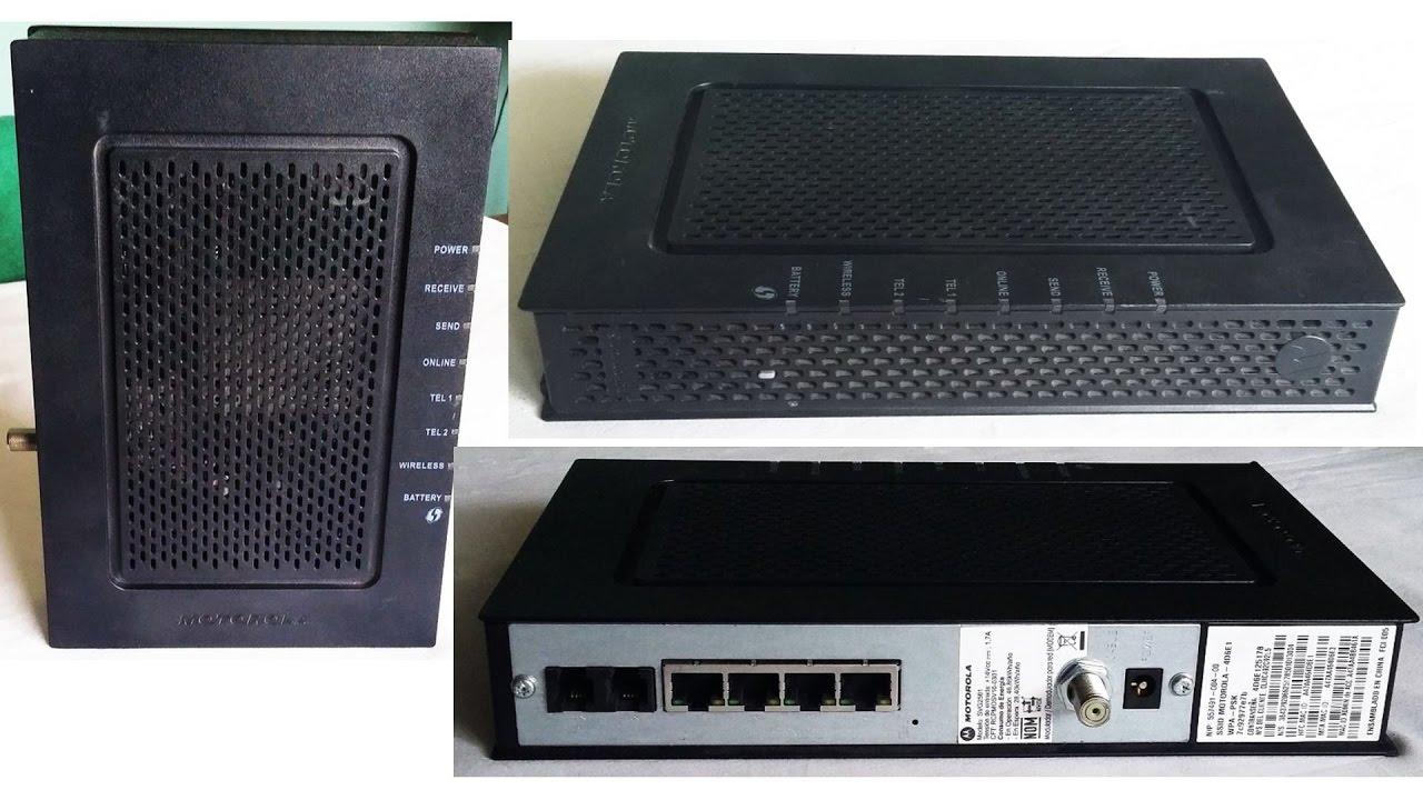 Como Configurar Un Router Motorola Svg2501 Claro 2017
