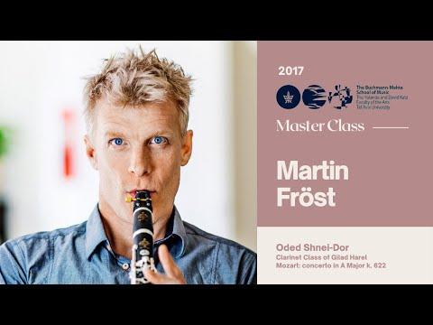 Martin Fröst - Clarinet Masterclass - Oded Shnei-Dor