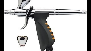 Iwata Neo TRN1 Gravity Feed Pistol Trigger Dual Action Airbrush - Product Review