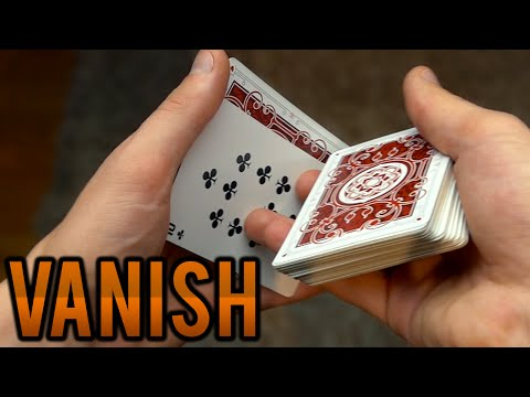 INSTANT Card VANISH - TUTORIAL