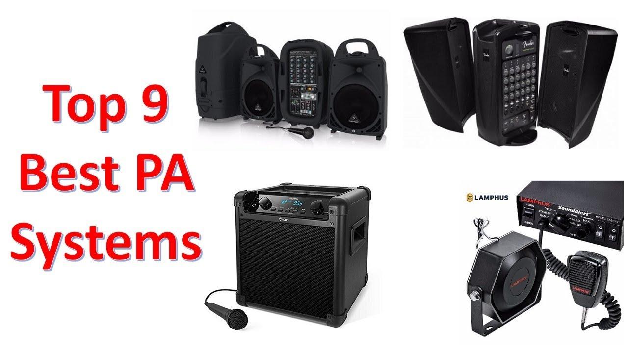 f46ba7b98f147e Top 9 Best PA Systems in 2018 You Can Buy on Amazon - YouTube